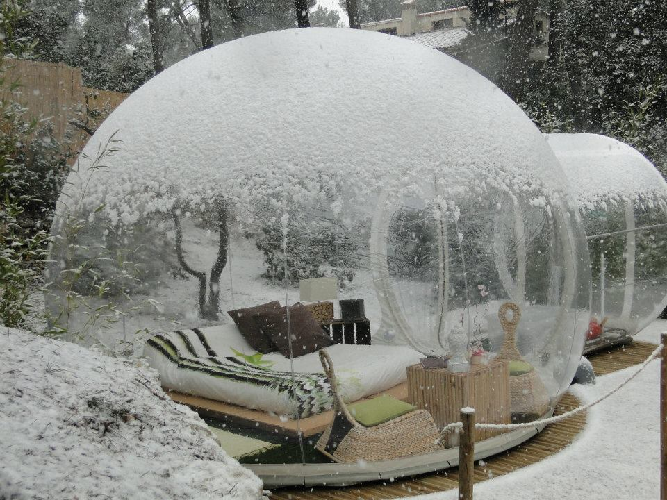 Attrap r ves the bubble hotel in france simple interesting Attrap reves hotel