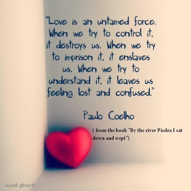 paulo coelho quotes love simple quotes about love 612x612