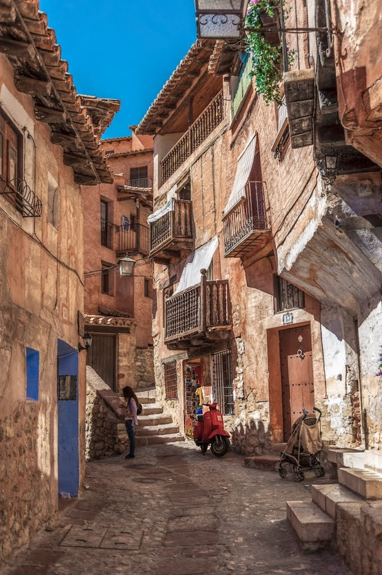 Albarracin Spain  City new picture : Albarracin, Aragon, Spain. | Simple & Interesting.