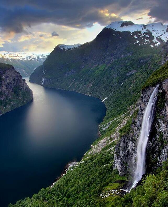 Geiranger Norway  city photo : Geiranger Fjord, Norway. | Simple & Interesting.