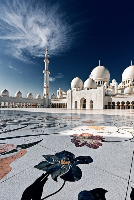 Sheikh Zayed Grand Mosque Simple Interesting