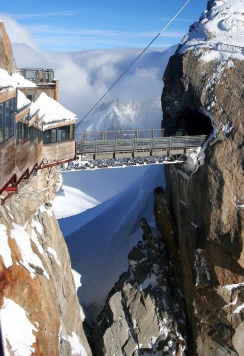 11du Midiin Chamonix, France, the highest point in Europe