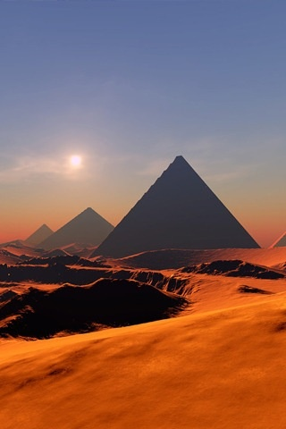 The pyramids of Giza 2