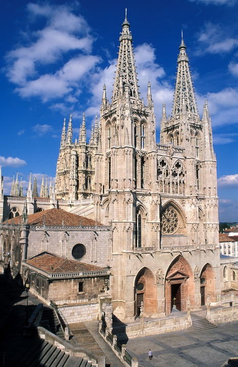 Burgos Spain  city photos : ... cathedral in burgos spain it is dedicated to the virgin mary and