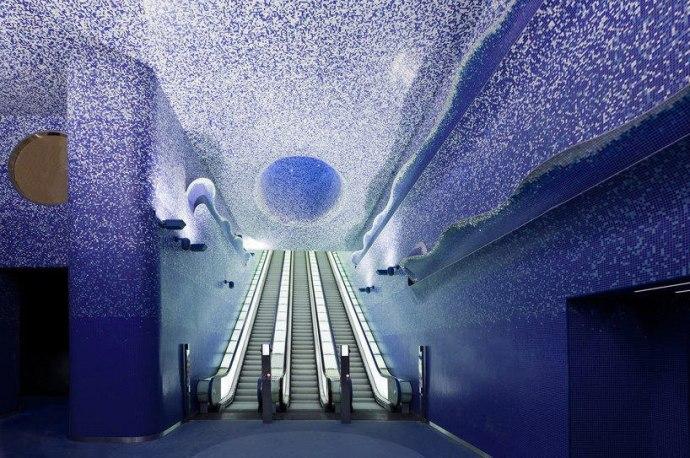 19Toledo Metro Station, Naples - Italy