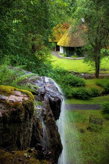 02Kilfane Glen in Kilkenny County, Ireland