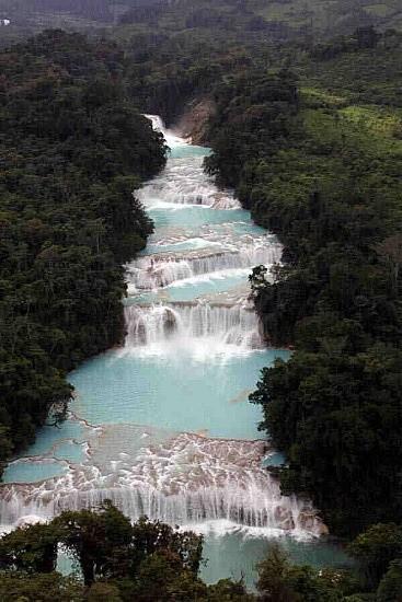 03Cascadas de Agua Azul, Palenque, Mexico