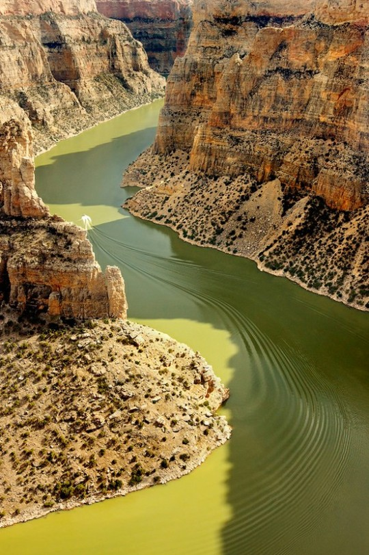 Bighorn Canyon National Recreation Area, Crow Reservation, Mt, USA