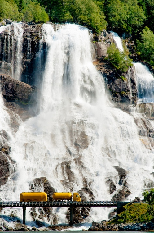 21Waterfall Highway, Furebergsfossen, Hardanger, Norway