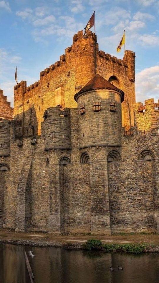 06Gravensteen Castle,Ghent,Belgium