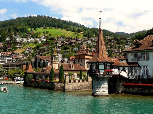19Oberhofen Castle, Switzerland