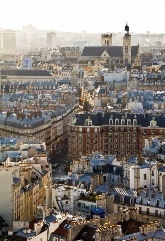 21Paris rooftops, France