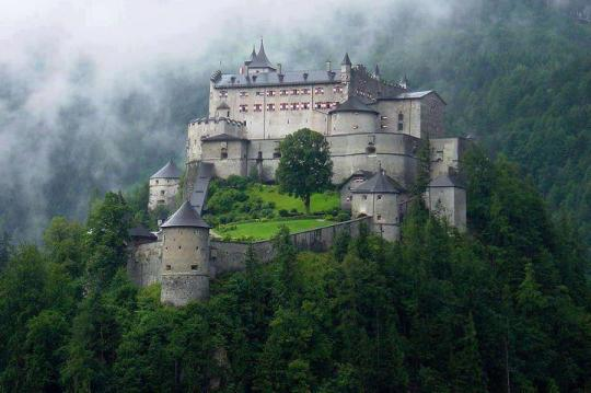 23Hohenwerfen Castle, Austria