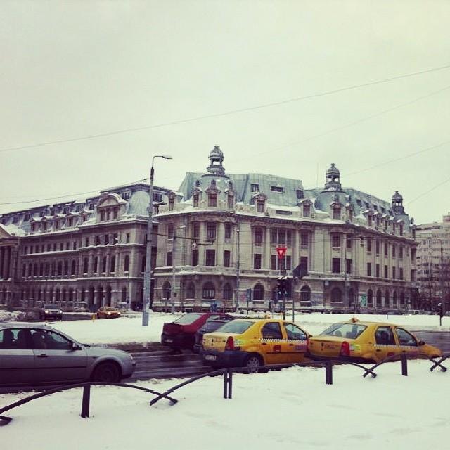 Bucuresti iarna 2014.