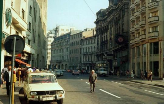Bucuresti_1980_CaleaVictorieilangateatrulOdeon