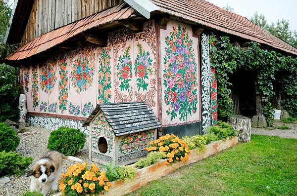 A Painted Village Zalipie Poland Simple Amp Interesting