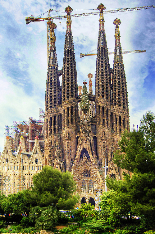 Sagrada Família - Barcelona - Spain (von Wolfgang Staudt)