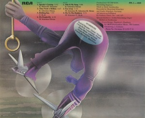 Scorpions - Fly To The Rainbow - LP_Back