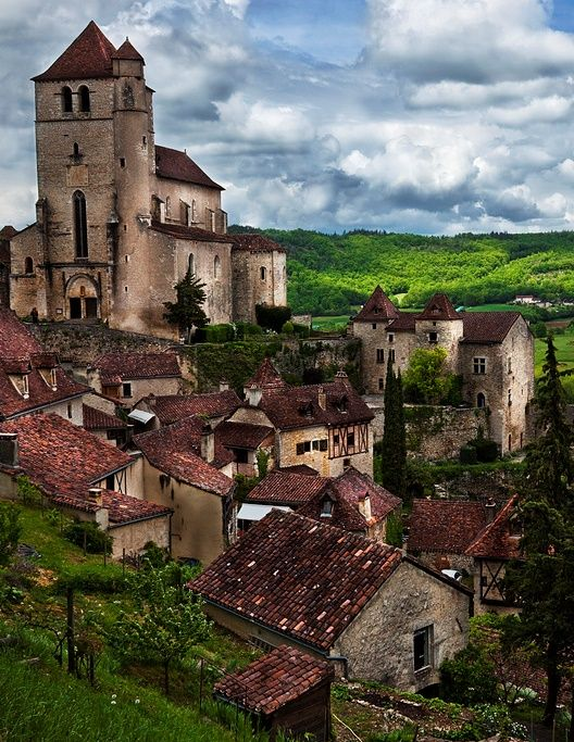 22Saint-Cirq-Lapopie, Lot, Midi-Pyrénées, France