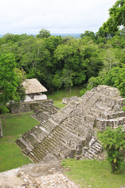 14The mayan archeological site at Yaxha in Peten, Guatemala