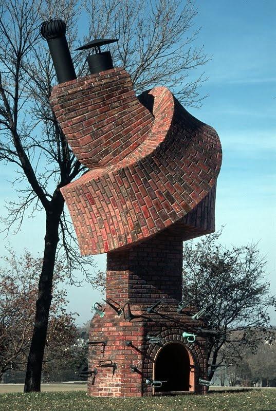 21Unusual Building by Dennis Oppenheim