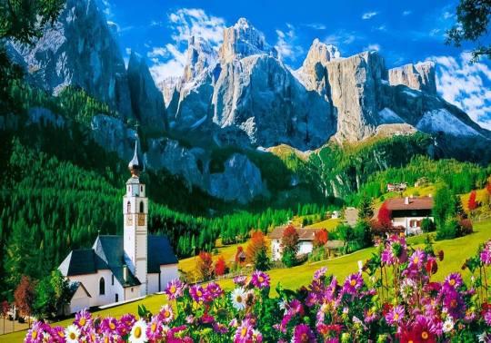 22Val Gardena, Dolomiți - Italia