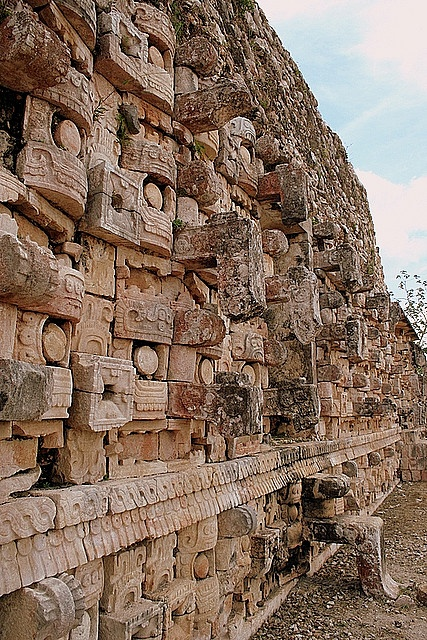 Temple of the Masks - Kabah, Mexico