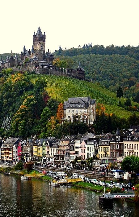 15Cochem Castle, Germany