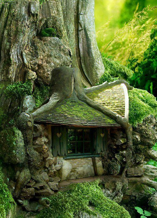 21Fairy tree house