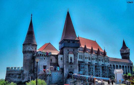 The Hunyad Castle, Hunedoara, Romania.