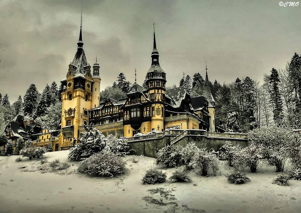 Peles Castle, Sinaia, Romania.