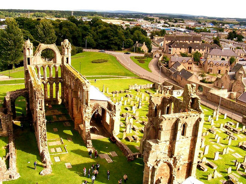 Elgin Cathedral , Scotland (by marck wells)