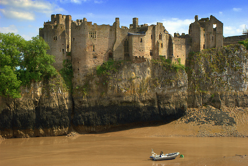 06Chepstow Castle, Wales (by chris .p)