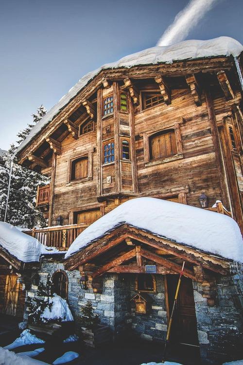 15Ski Chalet, Savoie, France photo via 10ver