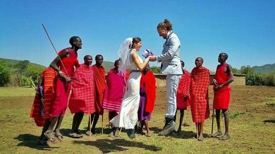 Masai Mara Village, Kenya
