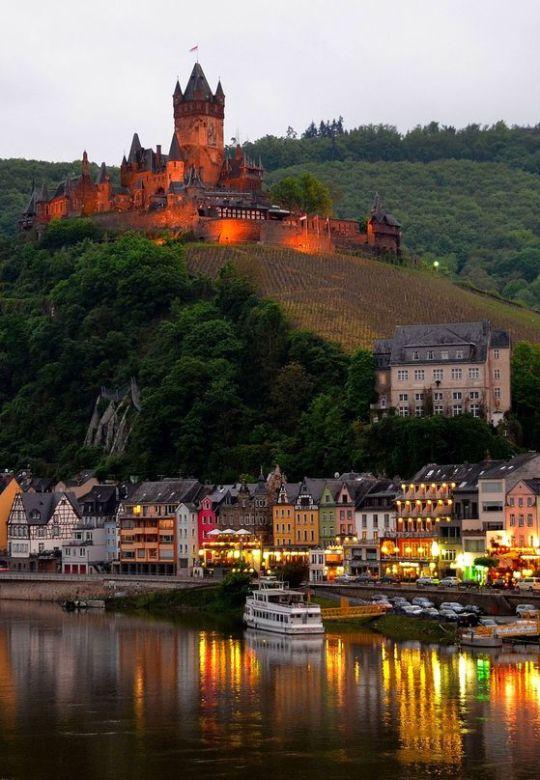 22Cochem castle, Germany