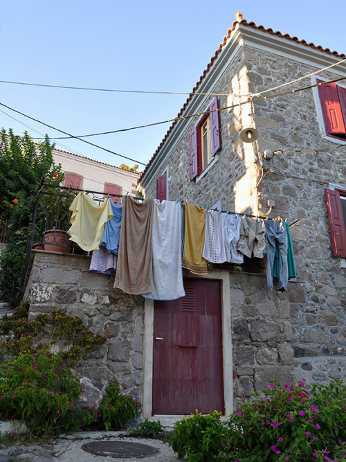 Molyvos - Drying Laundry