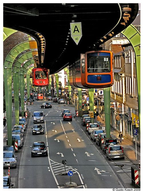 09Wuppertal Suspension Railway, Germany