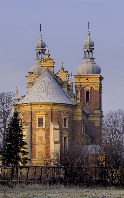 21Old Church in Golab a small village near Vislula. Poland
