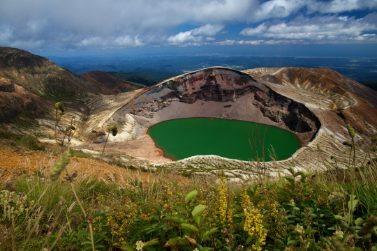 26Crater Lake (Okama), Mt. Zao – Honshu, Japan by aaron jarrad