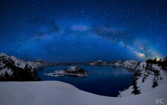 31Crater Lake, Mount Mazama – Oregon, USA by ben canales
