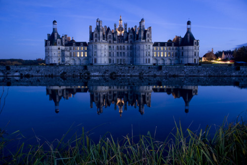 06Chambord Castle, France by Thierry Beauvir