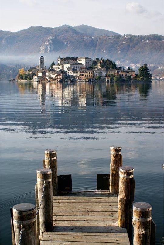 22San Giulio Island (Novara), Lake Orta, Piemonte, Italy