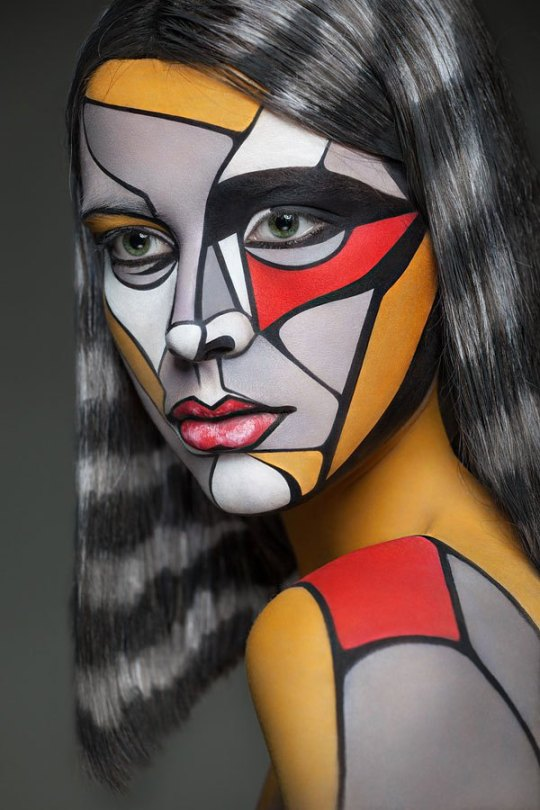 2d-portraits-painted-onto-human-faces-2