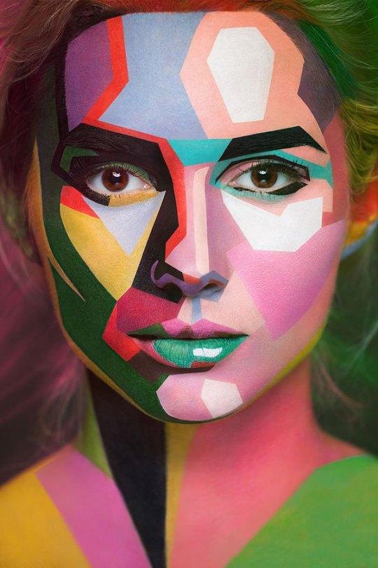 2d-portraits-painted-onto-human-faces-5