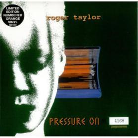 Roger+Taylor+Pressure+On+-+Orange+vinyl+122074